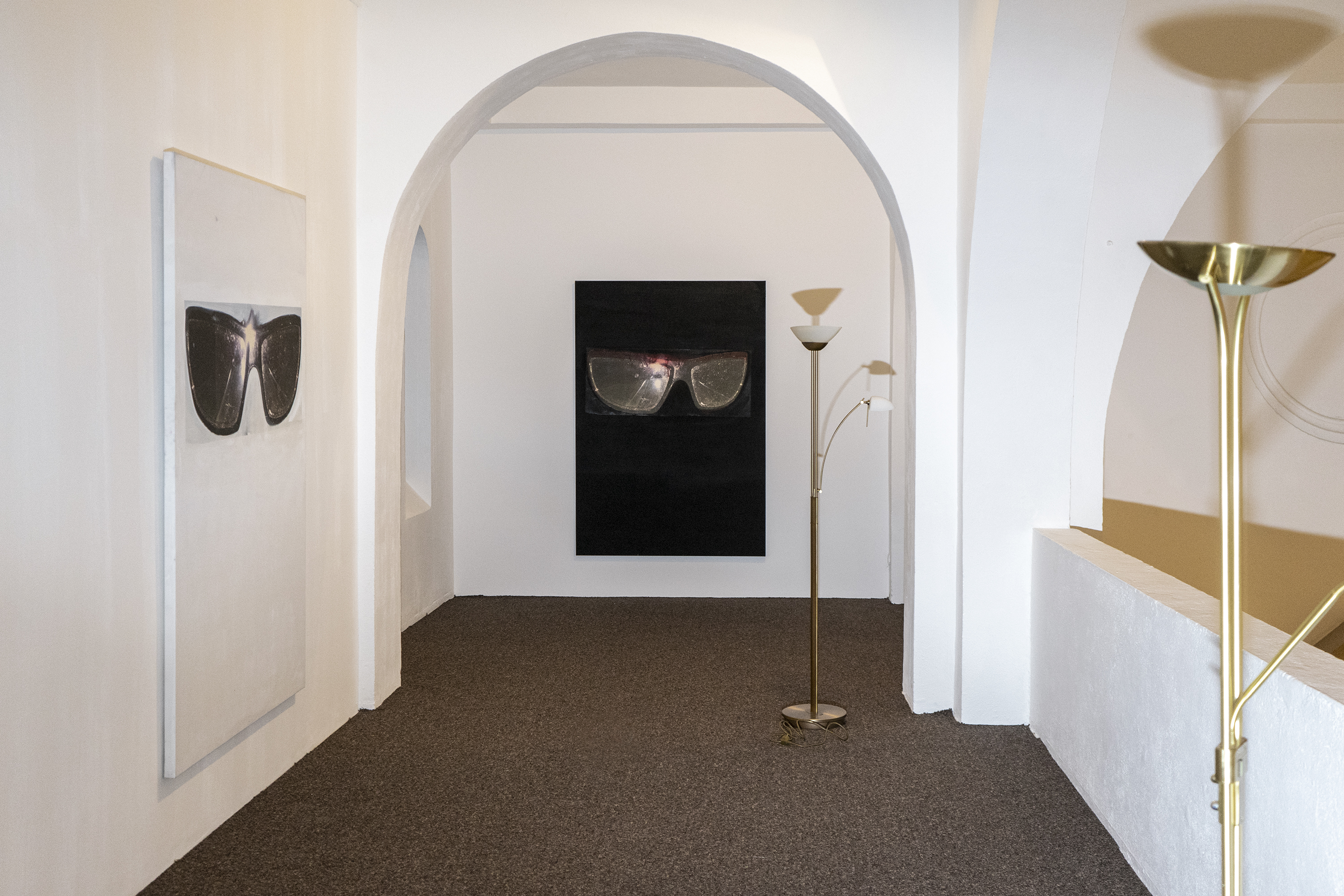 Vue de l'exposition Love and die de Tobias Spichtig, CAC-La synagogue de Delme, 2019. Photo : Tobias Spichtig.
