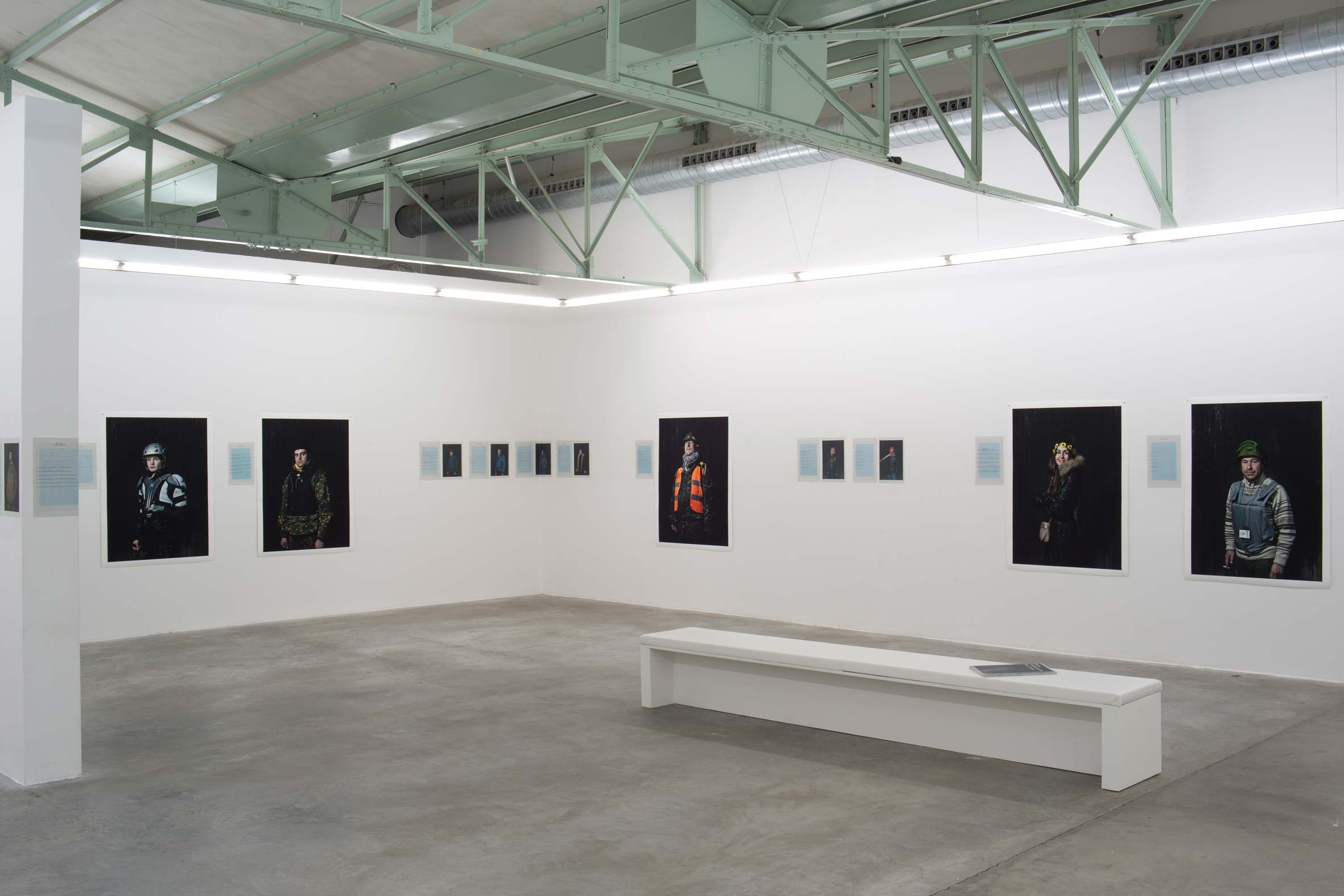 Emeric LHUISSET - Maydan Hundred portraits
