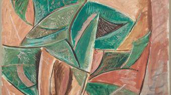 L'Arbre,1907, Paris Huile sur toile, MP21, Musée national Picasso-Paris © RMN Grand Palais / Adrien Didierjean © Succession Picasso 2018